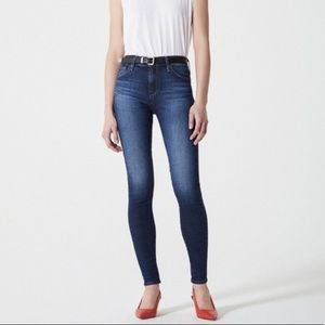 Adriano Goldschmied Farrah Skinny High Rise Jeans